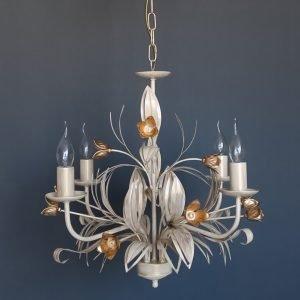 Κρεμαστό φωτιστικό 4 φώτα με διακοσμητικά κλαδιά